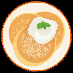 ふわふわ ケーキ ホット パン ケーキ ミックス