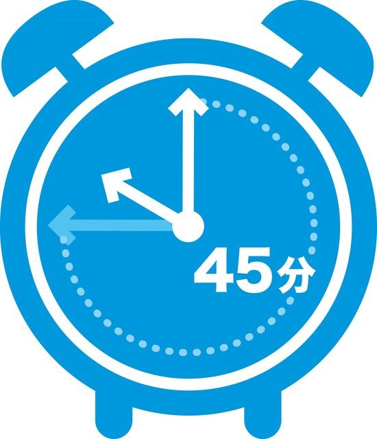 運動後45分がプロテイン摂取のゴールデンタイム