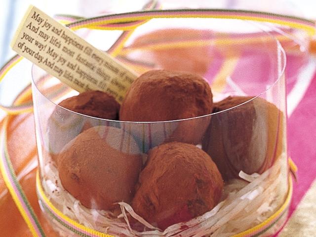 トリュフ チョコ 作り方
