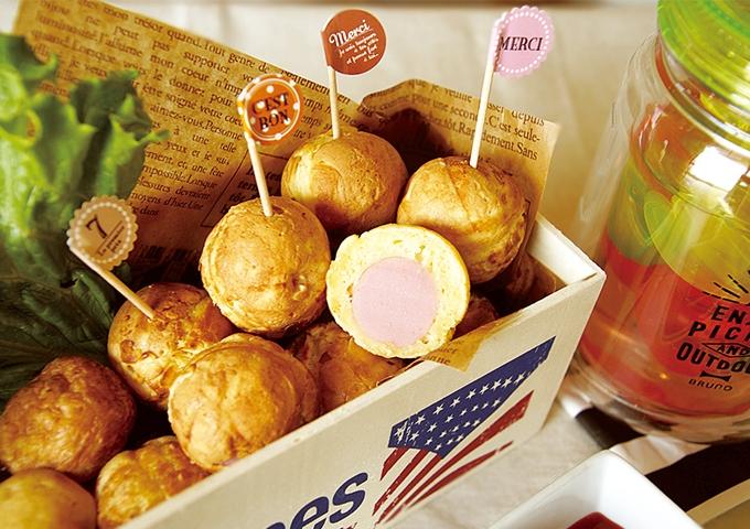 ホット ケーキ ミックス で アメリカン ドッグ