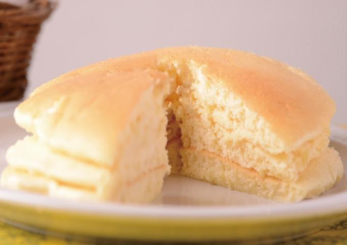 しゅんわりホットケーキ(メレンゲ)